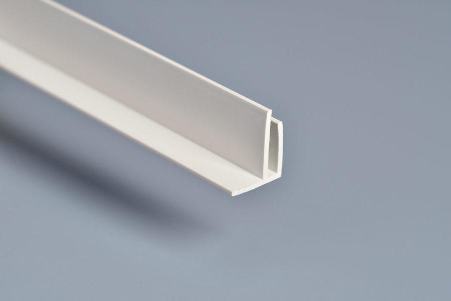 White PVC External Corner Trim