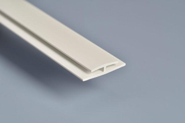 White PVC Division Bar