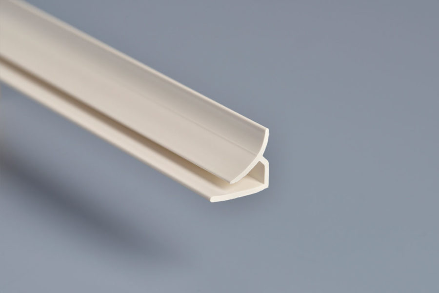 White PVC Internal Corner
