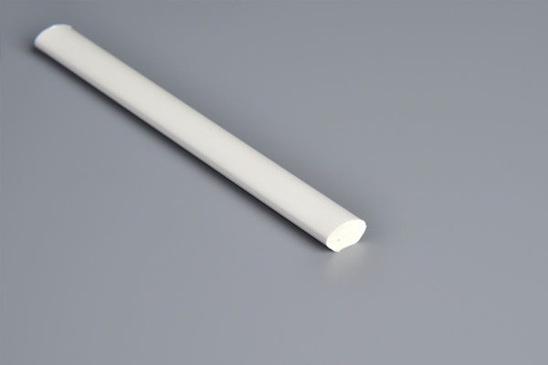 12mm White PVC Quadrant