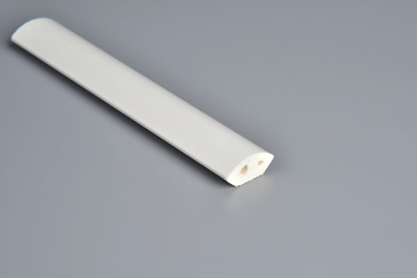 19mm White PVC Quadrant