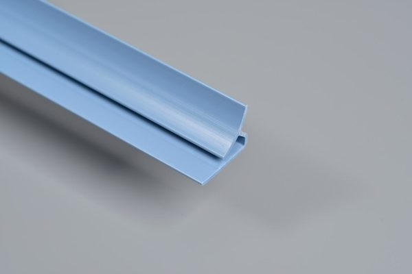 Shine Gloss Blue PVC Internal Corner