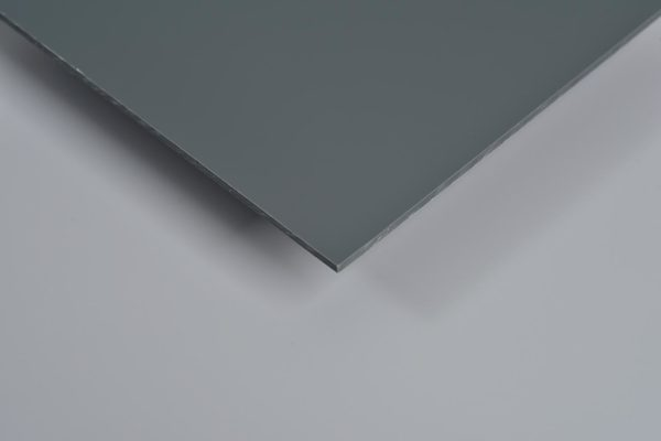 Shine Gloss Mid Grey PVC Hygienic Wall Panels