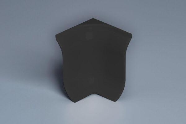 Black Skirting 2 way Internal Corner