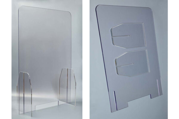 Perspex Screen - Perspex Screen - 675mm x 1000m
